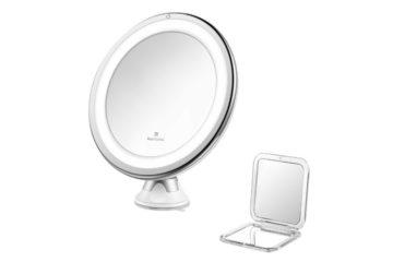 Jerrybox Miroir de Maquillage Lumineux
