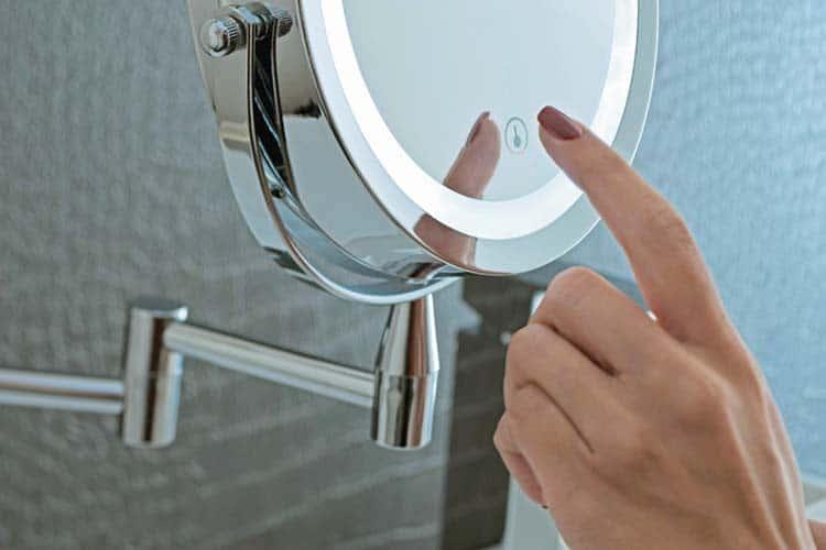 miroir grossissant test